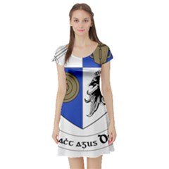 County Monaghan Coat of Arms  Short Sleeve Skater Dress