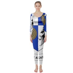 County Monaghan Coat of Arms  Long Sleeve Catsuit