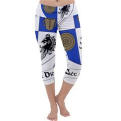County Monaghan Coat of Arms  Capri Yoga Leggings