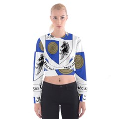 County Monaghan Coat of Arms  Cropped Sweatshirt