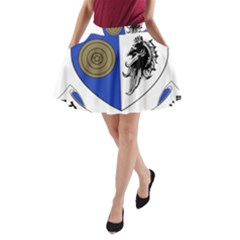 County Monaghan Coat of Arms  A-Line Pocket Skirt