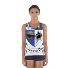 County Monaghan Coat of Arms  Women s Sport Tank Top