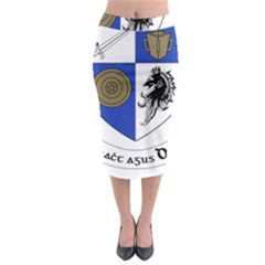 County Monaghan Coat of Arms  Midi Pencil Skirt