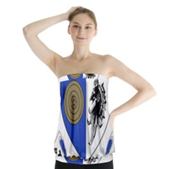 County Monaghan Coat of Arms  Strapless Top