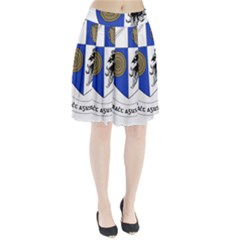 County Monaghan Coat of Arms  Pleated Skirt