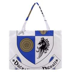 County Monaghan Coat of Arms  Medium Zipper Tote Bag