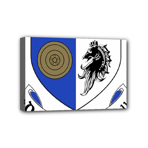 County Monaghan Coat of Arms Mini Canvas 6  x 4
