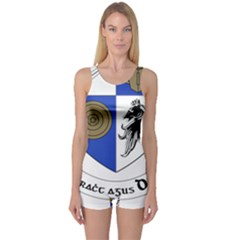 County Monaghan Coat of Arms One Piece Boyleg Swimsuit