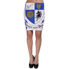 County Monaghan Coat of Arms Bodycon Skirt