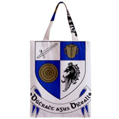 County Monaghan Coat of Arms Zipper Classic Tote Bag