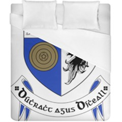 County Monaghan Coat of Arms Duvet Cover (California King Size)