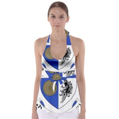 County Monaghan Coat of Arms Babydoll Tankini Top