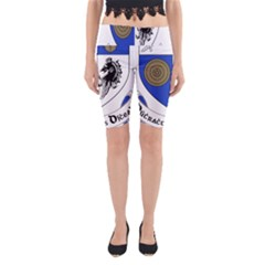 County Monaghan Coat of Arms Yoga Cropped Leggings