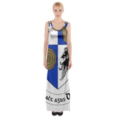 County Monaghan Coat of Arms Maxi Thigh Split Dress