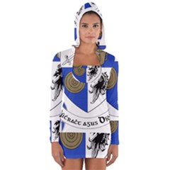 County Monaghan Coat of Arms Women s Long Sleeve Hooded T-shirt