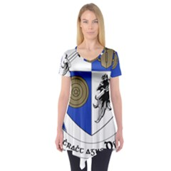 County Monaghan Coat of Arms Short Sleeve Tunic
