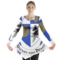 County Monaghan Coat of Arms Long Sleeve Tunic