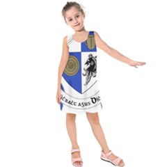 County Monaghan Coat of Arms Kids  Sleeveless Dress