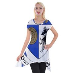 County Monaghan Coat of Arms Short Sleeve Side Drop Tunic