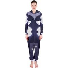Moon Hooded Jumpsuit (Ladies)