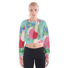 Unicorn Cropped Sweatshirt