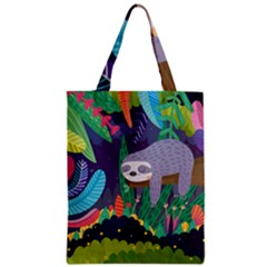 Sloth in nature Zipper Classic Tote Bag