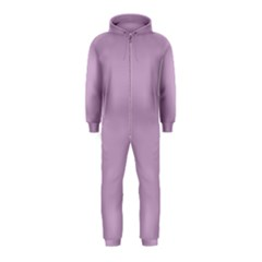 Pastel Color - Magentaish Gray Hooded Jumpsuit (Kids)