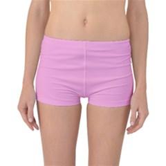 Pastel Color - Pale Cerise Reversible Bikini Bottoms