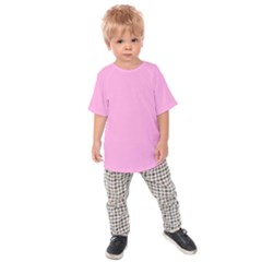 Pastel Color   Pale Cerise Kids  Raglan Tee
