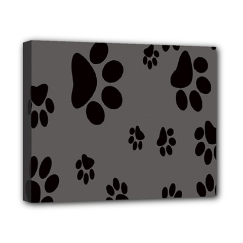 Dog Foodprint Paw Prints Seamless Background And Pattern Canvas 10  x 8