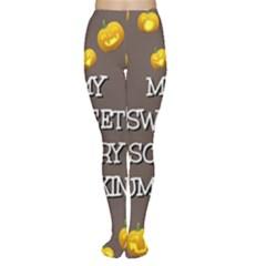 Hallowen My Sweet Scary Pumkins Women s Tights