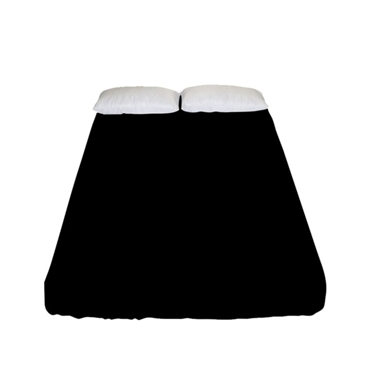 Black Gothic Fitted Sheet (Full/ Double Size)