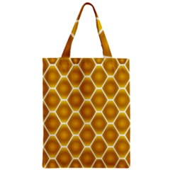 Snake Abstract Pattern Zipper Classic Tote Bag