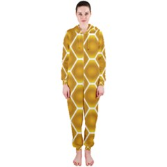 Snake Abstract Pattern Hooded Jumpsuit (Ladies)