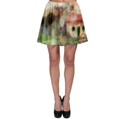 Old Spanish Village Skater Skirt