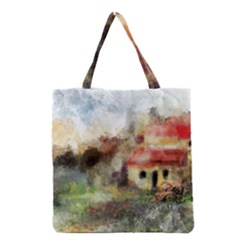 Old Spanish Village Grocery Tote Bag