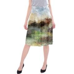 Old Spanish Village Midi Beach Skirt