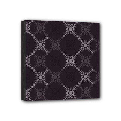 Abstract Seamless Pattern Background Mini Canvas 4  x 4