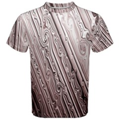 Vintage Pattern Background Wallpaper Men s Cotton Tee