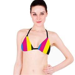 Kellytvgear Colorful  Bikini Top