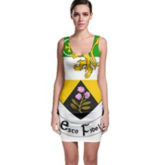 County Offaly Coat of Arms  Sleeveless Bodycon Dress