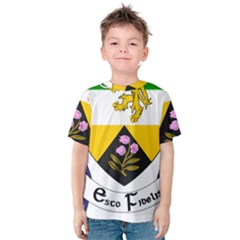 County Offaly Coat of Arms  Kids  Cotton Tee