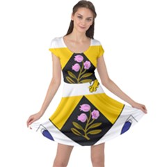 County Offaly Coat of Arms  Cap Sleeve Dresses