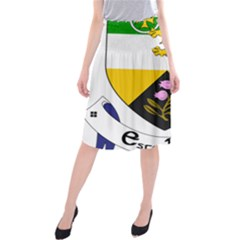 County Offaly Coat of Arms  Midi Beach Skirt