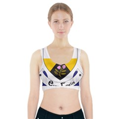 County Offaly Coat Of Arms  Sports Bra With Pocket