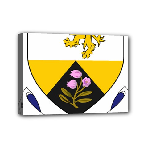 County Offaly Coat of Arms  Mini Canvas 7  x 5
