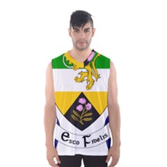 County Offaly Coat of Arms  Men s Basketball Tank Top
