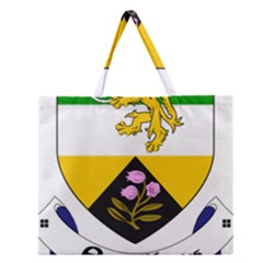 County Offaly Coat of Arms  Zipper Large Tote Bag