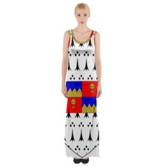 County Tipperary Coat of Arms  Maxi Thigh Split Dress