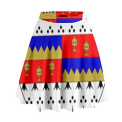 County Tipperary Coat of Arms  High Waist Skirt
